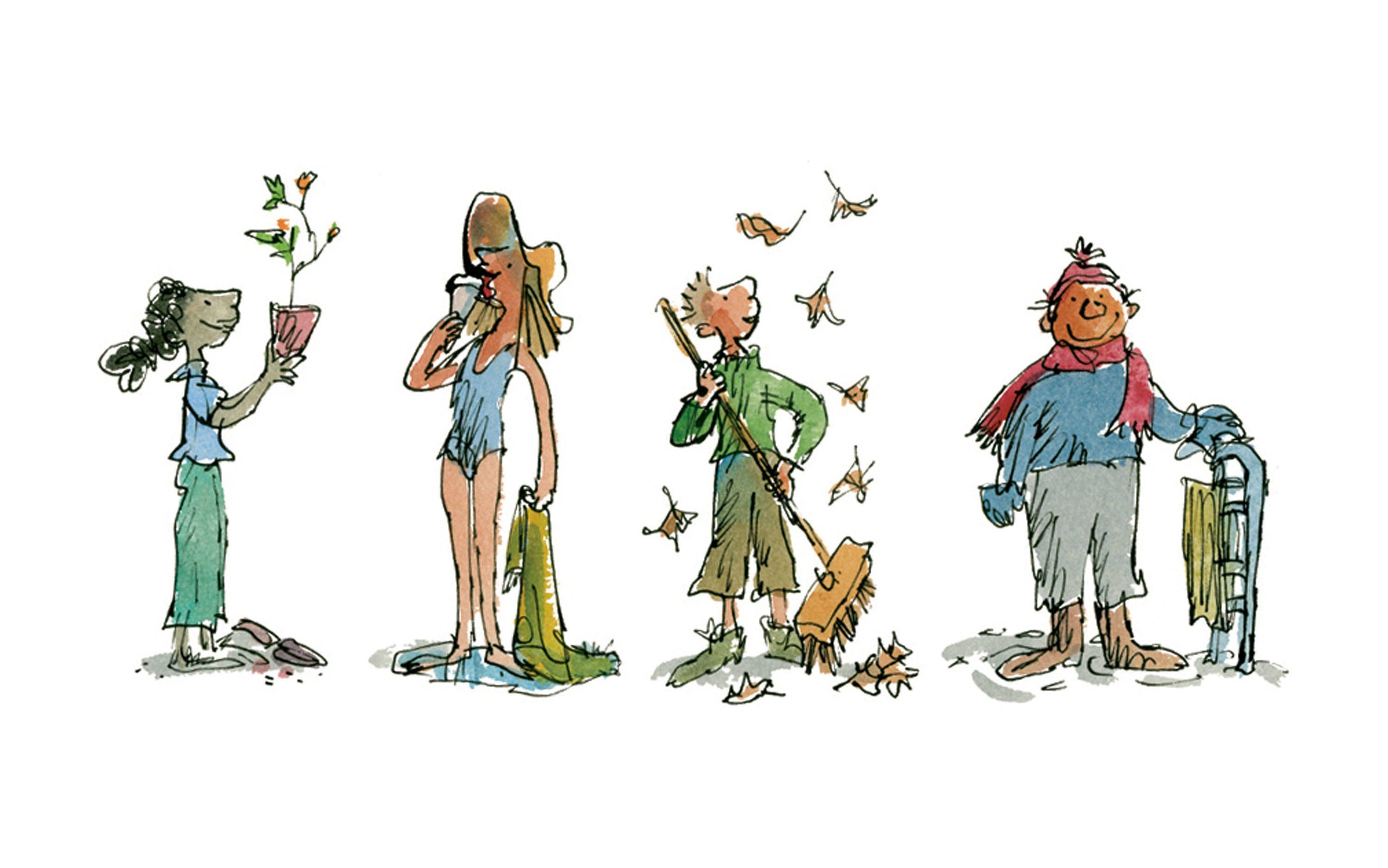 All the Year Round (3) ® Quentin Blake
