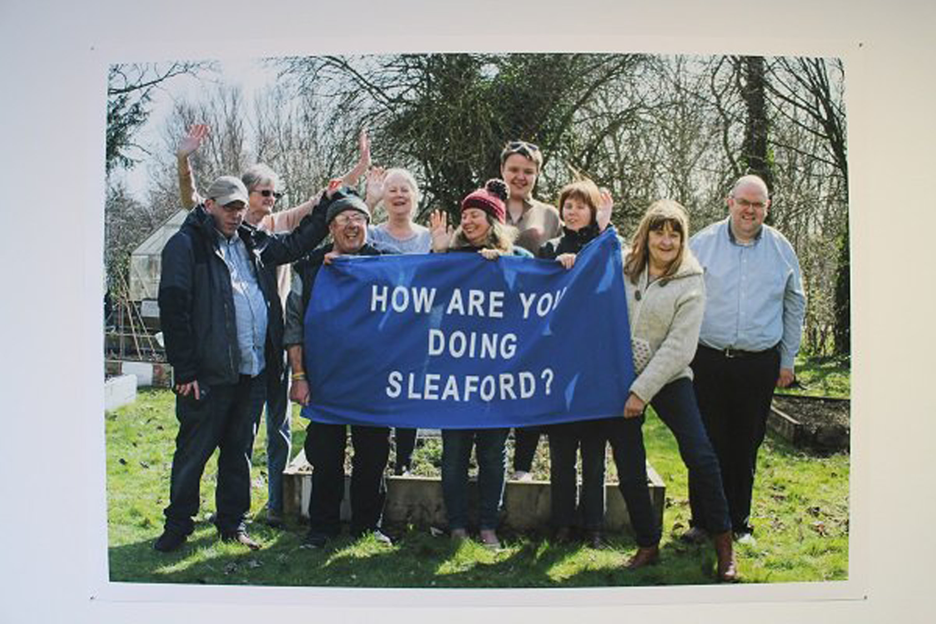 How are you doing Sleaford?