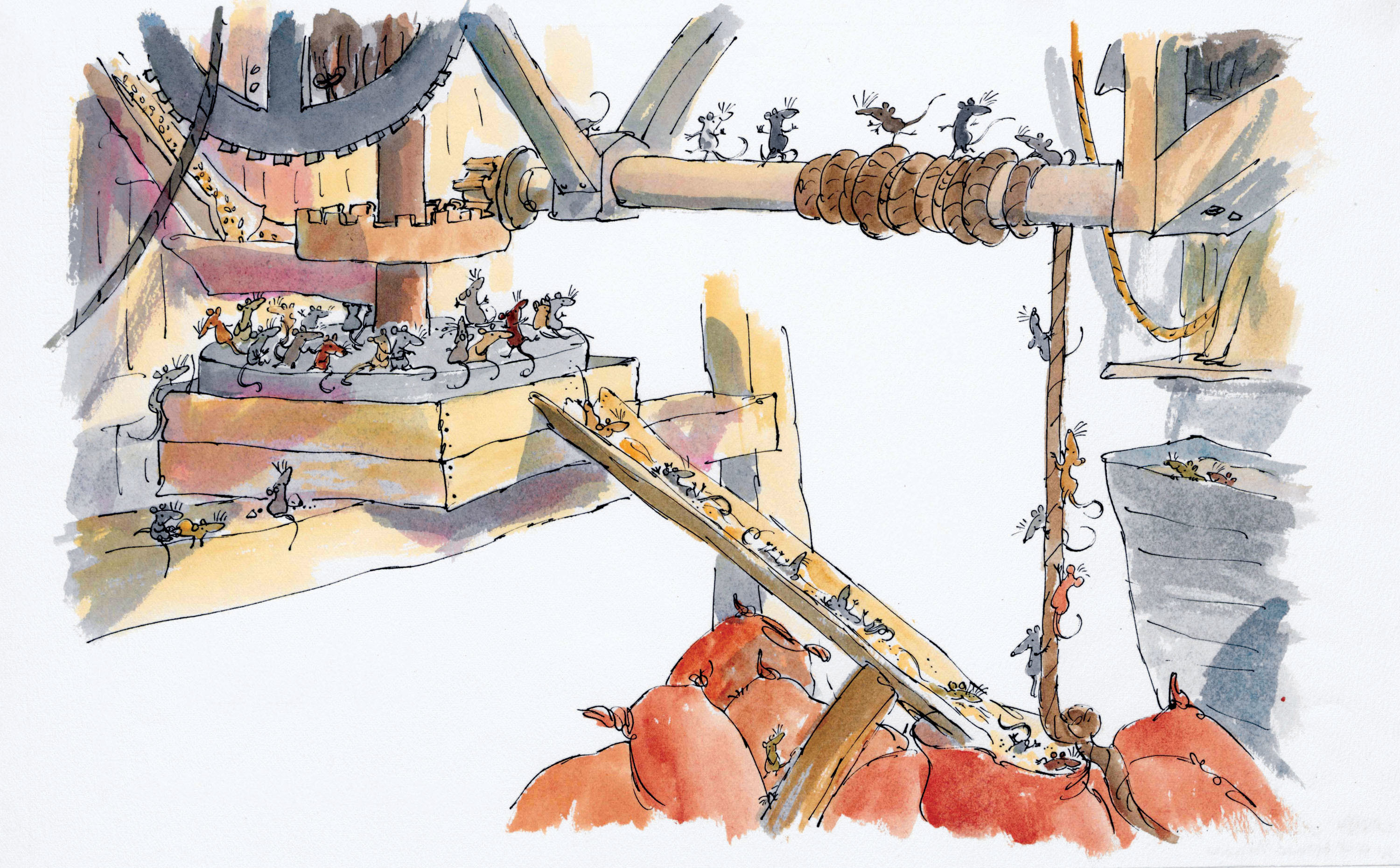 Mouse Trouble (2 cropped) ® Quentin Blake