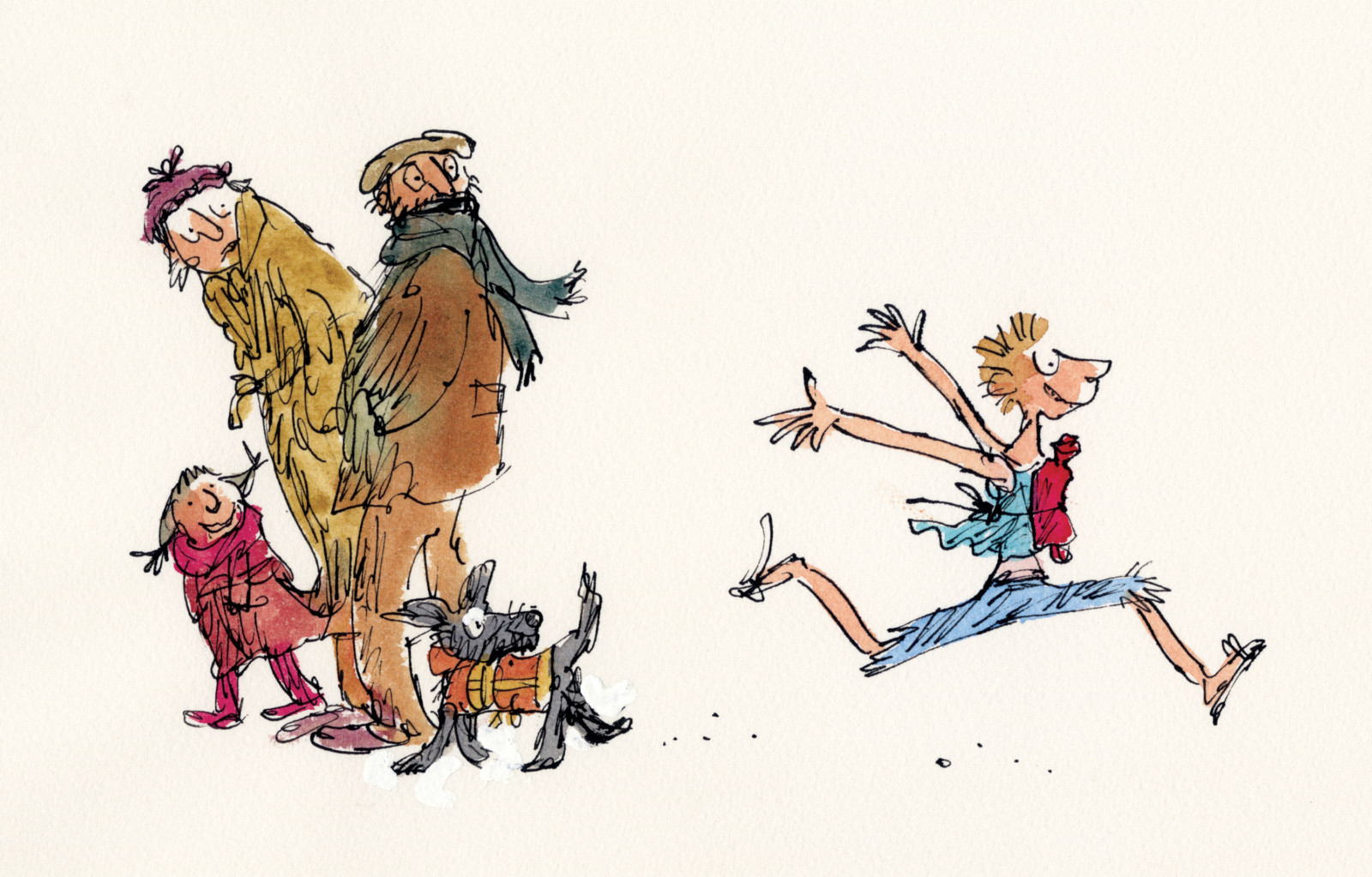 Image: All The Year Round by Quentin Blake