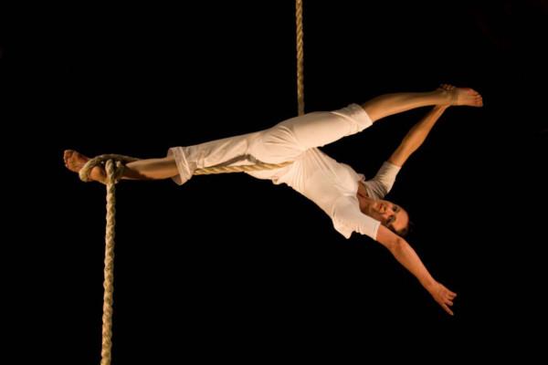 Aerial Intro Rope Workshop with Claire Crook (Madam Mango)