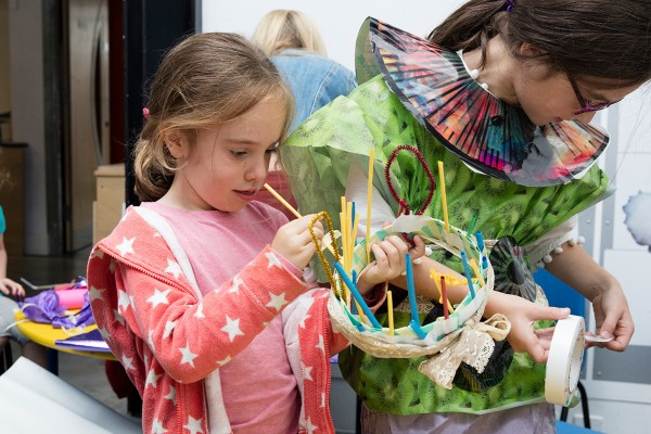 October Half Term Family Workshop - Greenery on Glass with glass designer Emma Britton