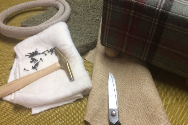 Footstool Upholstery Masterclass with Hannah Weston-Smith