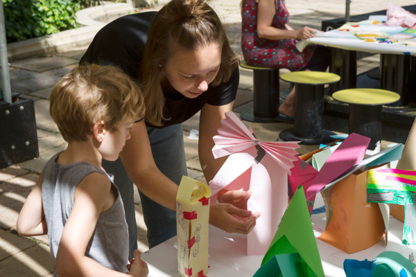 Summer Family Workshops: Design a Place to Play