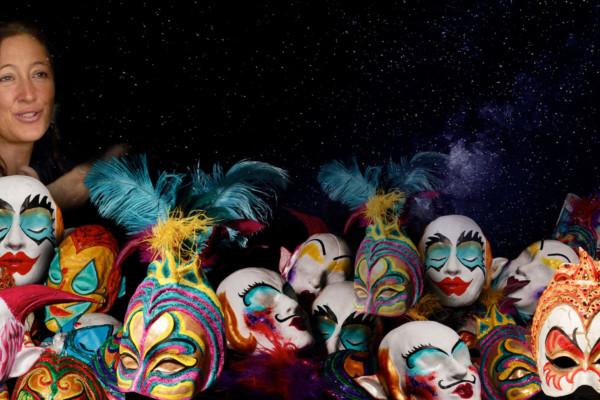Circus Masks – 3D Cardboard