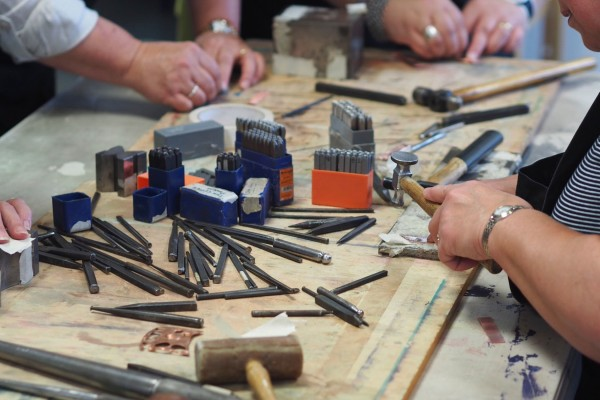 Silversmithing Saturday with Andrew Poole