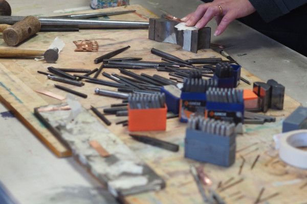 Silversmithing Saturdays with Andrew Poole