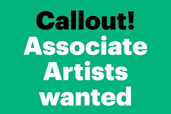 Become One of NCCD's Associate Artists!