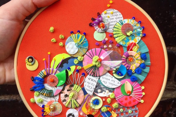 Explore Colour, Pattern and Creative Recycling with Textile Art