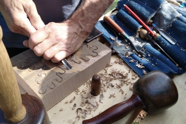 Woodcarving Festival at The Nettles, Sleaford