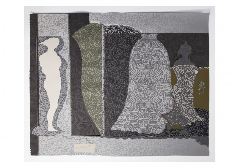 Charlotte Hodes Papercuts and Ceramics